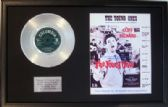 "CLIFF RICHARD - 7"" Platinum Disc & Song Sheet- THE YOUNG ONES"